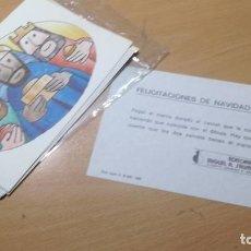Juegos educativos: FELICITACION DE NAVIDAD Nº 1 - SALTAVELLA - PARA COMPONER - ESCUELA - MANUALIDADES. Lote 155981770