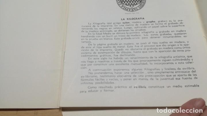 Juegos educativos: EL LINOLEO Y LA XILOGRAFIA 37 - SALTAVELLA - ESCUELA - MANUALIDADES - Foto 4 - 155983870
