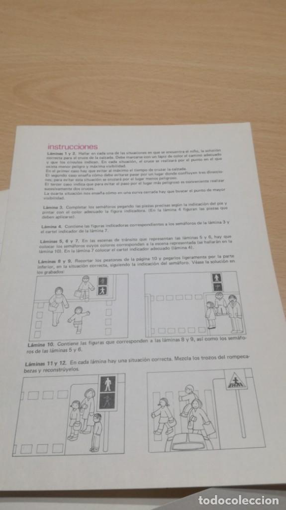Juegos educativos: TRABAJOS DE PARVULOS CAMINAR POR LA CALLE 36 -SALTAVELLA - ESCUELA - MANUALIDADES - Foto 4 - 155984934
