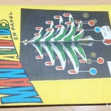 Juegos educativos: HABILIDADES MOVILES I MANUALIDADES EN PAPEL - 6 -SALTAVELLA - ESCUELA - MANUALIDADES. Lote 155994078