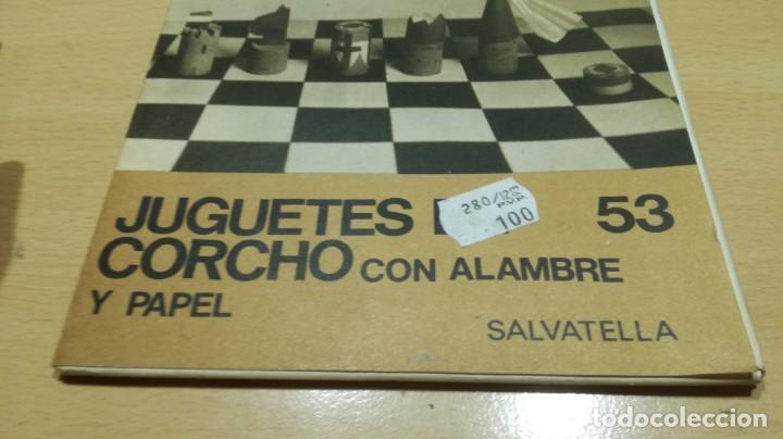 Juegos educativos: JUGUETES DE CORCHO CON ALAMBRE Y PAPEL - 53 -SALTAVELLA - ESCUELA - MANUALIDADES - Foto 4 - 155994222