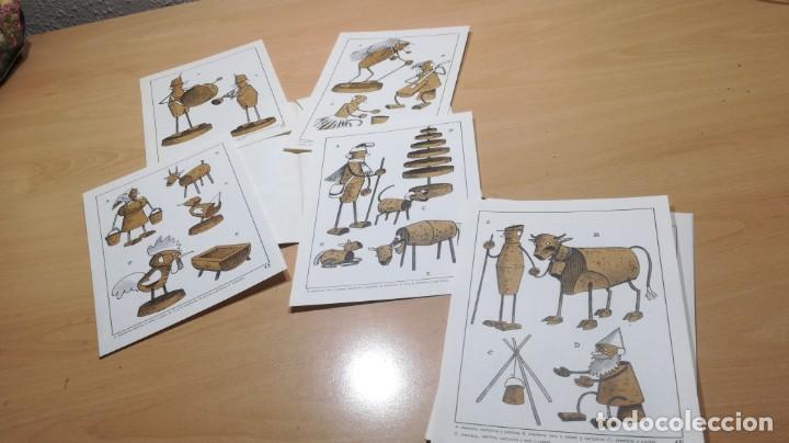 Juegos educativos: JUGUETES DE CORCHO CON ALAMBRE Y PAPEL - 53 -SALTAVELLA - ESCUELA - MANUALIDADES - Foto 6 - 155994222