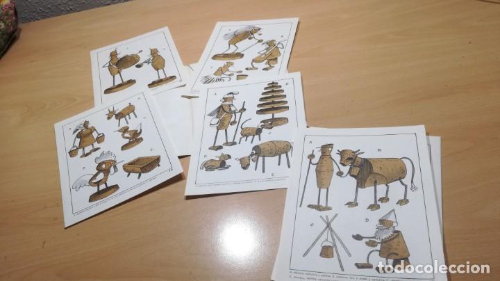Juegos educativos: JUGUETES DE CORCHO CON ALAMBRE Y PAPEL - 53 -SALTAVELLA - ESCUELA - MANUALIDADES - Foto 7 - 155994222