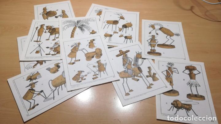 Juegos educativos: JUGUETES DE CORCHO CON ALAMBRE Y PAPEL - 53 -SALTAVELLA - ESCUELA - MANUALIDADES - Foto 8 - 155994222