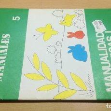 Juegos educativos: MANUALIDADES ARTISTICAS I - ACTIVIDADES MANUALES 5 -SALTAVELLA - ESCUELA - MANUALIDADES. Lote 155995142