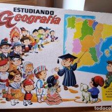 Juegos educativos: ANTIGUO JUEGO ELECTRONICO ESTUDIANDO GEOGRAFIA DE PLASTICOS SANTA ELENA FUNCIONA AÑOS 70. Lote 156832422