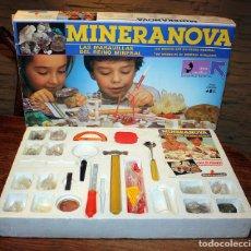 Juegos educativos: MINERANOVA - LAS MARAVILLAS DEL REINO MINERAL - MEDITERRANEO - REF. 7 - EN SU CAJA ORIGINAL. Lote 156903526