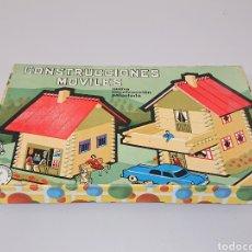 Juegos educativos: CONSTRUCCIÓNES MÓVILES DE MADERA CAJA N 2. Lote 157132021
