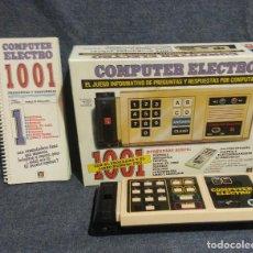 Juegos educativos: JUEGO PREGUNTAS - COMPUTER ELECTRO 1001-DISET. Lote 157566206