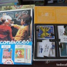 Juegos educativos: JUEGO EDUCA INFANTIL EM CONEIXES ? - EN CATALA - STOCK DE BOTIGA ANYS 80 - MOLT BON ESTAT. Lote 158135362