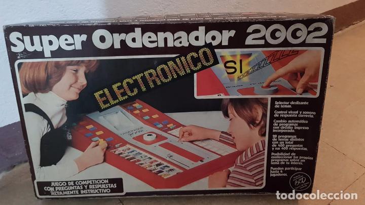 SUPER ORDENADOR 2002 ELECTRONICO AÑOS 80 20 PROGRAMAS DISTINTOS (Juguetes - Juegos - Educativos)