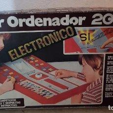 Juegos educativos: SUPER ORDENADOR 2002 ELECTRONICO AÑOS 80 20 PROGRAMAS DISTINTOS. Lote 158152514