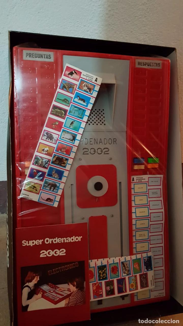 Juegos educativos: SUPER ORDENADOR 2002 ELECTRONICO AÑOS 80 20 PROGRAMAS DISTINTOS - Foto 2 - 158152514