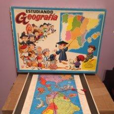 Juegos educativos: ESTUDIANDO GEOGRAFÍA. Lote 159751442
