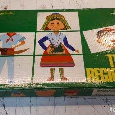 Juegos educativos: TRAJES REGIONALES, DIDACTA. . Lote 161405010