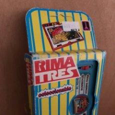 Juegos educativos: JUEGO RIMA EDUCATIVO 1990. Lote 161604458