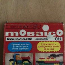 Juegos educativos: JUEGO DE MOSAICO 1980. Lote 161604578