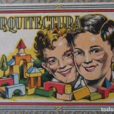 Juegos educativos: -ARQUITECTURA-JUEGO CONSTRUCION- DE MADERA- CIRCA-1930-1950-. Lote 164098610