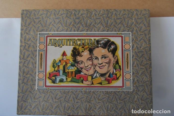 Juegos educativos: -ARQUITECTURA-JUEGO CONSTRUCION- DE MADERA- CIRCA-1930-1950- - Foto 5 - 164098610