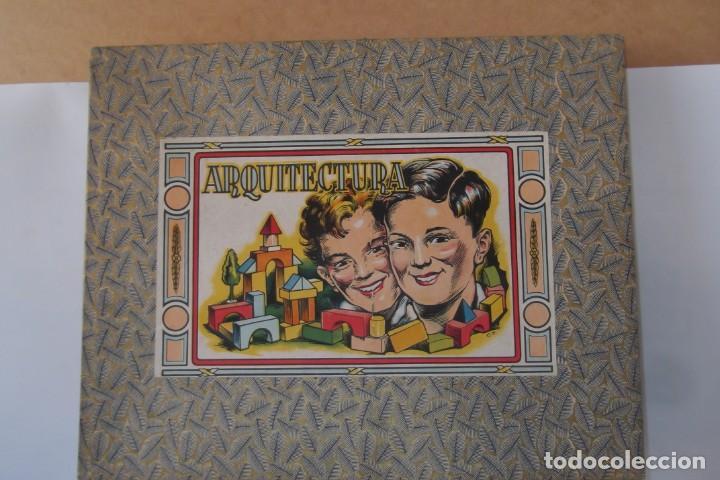 Juegos educativos: -ARQUITECTURA-JUEGO CONSTRUCION- DE MADERA- CIRCA-1930-1950- - Foto 8 - 164098610