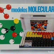 Juegos educativos: MODELOS MOLECULARES. NUEVO EN CAJA. SERIMA. COMPLETO. MALETÍN. SIN ESTRENAR. COVALENTES E IÓNICOS.. Lote 164964210