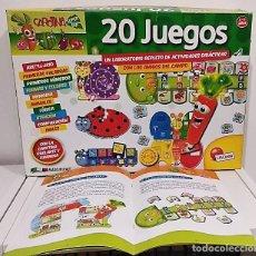 Juegos educativos: CAROTINA SUPER BIP. 20 JUEGOS . PILA INCLUIDA . Lote 165523018