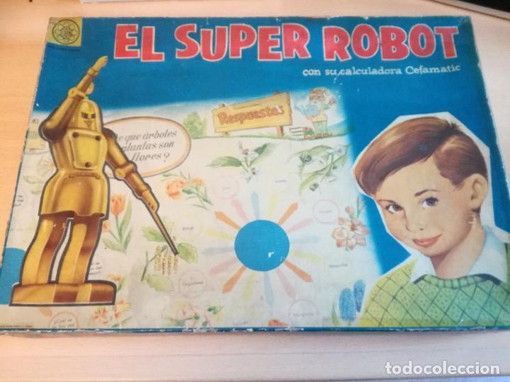 EL SUPER ROBOT, AÑOS 60, DE CEFA, COMPLETO (Juguetes - Juegos - Educativos)