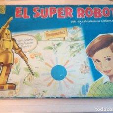 Juegos educativos: EL SUPER ROBOT, AÑOS 60, DE CEFA, COMPLETO. Lote 165796302