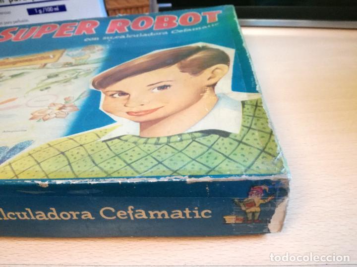 Juegos educativos: EL SUPER ROBOT, AÑOS 60, DE CEFA, completo - Foto 3 - 165796302