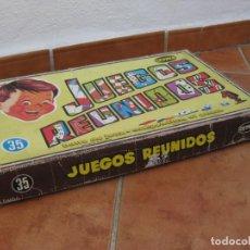 Juegos educativos: CAJA VACIA DE JUEGOS REUNIDOS. GEYPER.. Lote 167438768