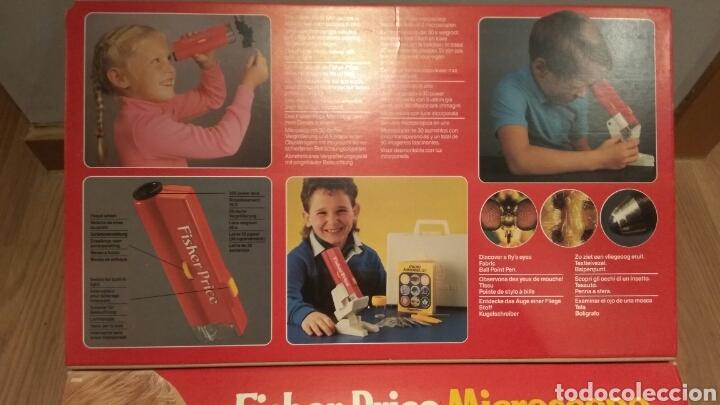 Juegos educativos: FISHER PRICE MICROSCOPIO AÑOS 80 - Foto 2 - 167982845