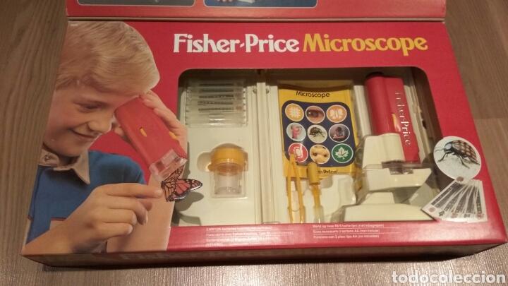 Juegos educativos: FISHER PRICE MICROSCOPIO AÑOS 80 - Foto 4 - 167982845