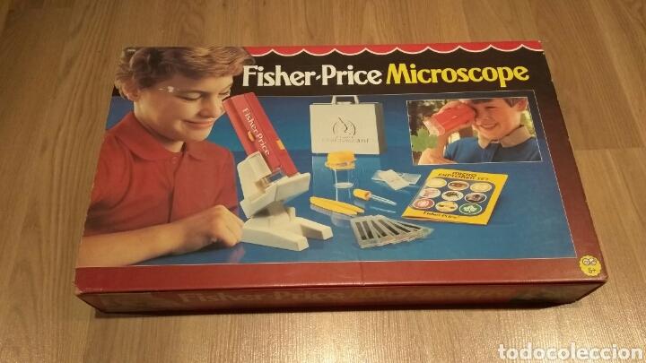 FISHER PRICE MICROSCOPIO AÑOS 80 (Juguetes - Juegos - Educativos)