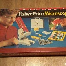Juegos educativos: FISHER PRICE MICROSCOPIO AÑOS 80. Lote 167982845