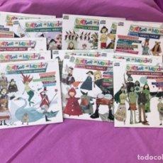 Juegos educativos: CUENTOS DEL MUNDO PARA NIÑOS COLECCION 12 CD 62 CUENTOS POPULARES NIÑOS ASIA INDIA EUROPA RUSIA . Lote 168383792