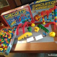 Juegos educativos: LOTE 1900 FICHAS DOMINO DE SURTIDO COLORES + MUCHOS COMPLEMENTOS ELEVADORES. Lote 168508792