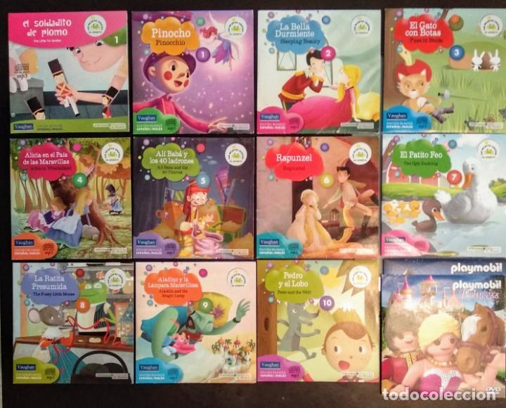 LOTE CD CUENTOS INFANTILES AUDIO INGLÉS-ESPAÑOL (Juguetes - Juegos - Educativos)