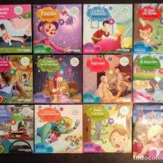 Juegos educativos: LOTE CD CUENTOS INFANTILES AUDIO INGLÉS-ESPAÑOL. Lote 169153412