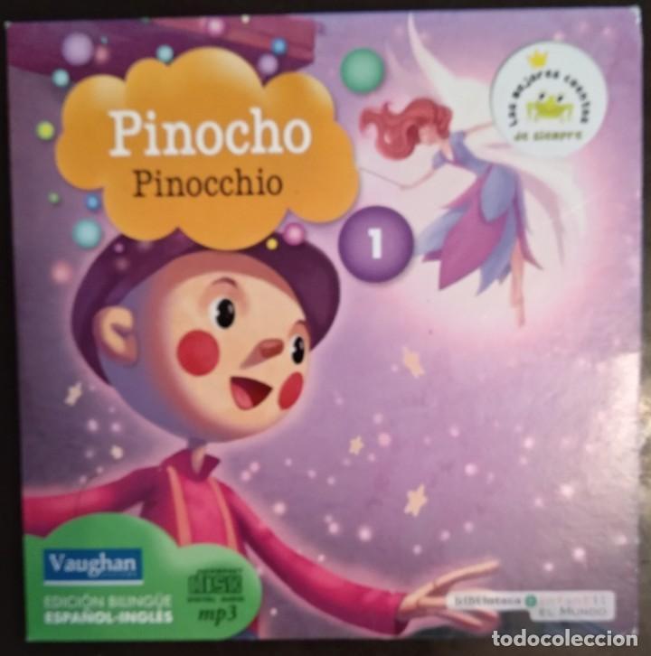 Juegos educativos: LOTE CD CUENTOS INFANTILES audio inglés-español - Foto 2 - 169153412