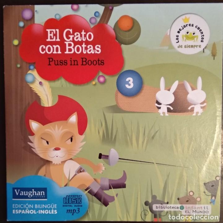 Juegos educativos: LOTE CD CUENTOS INFANTILES audio inglés-español - Foto 4 - 169153412