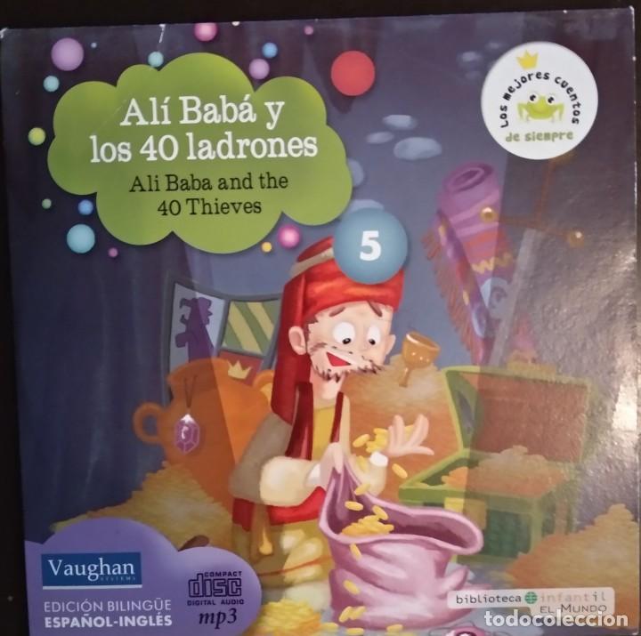 Juegos educativos: LOTE CD CUENTOS INFANTILES audio inglés-español - Foto 6 - 169153412