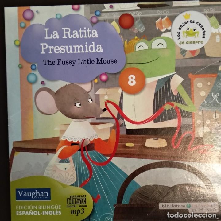 Juegos educativos: LOTE CD CUENTOS INFANTILES audio inglés-español - Foto 9 - 169153412