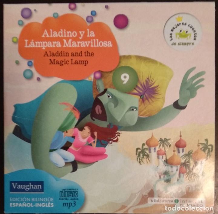 Juegos educativos: LOTE CD CUENTOS INFANTILES audio inglés-español - Foto 10 - 169153412