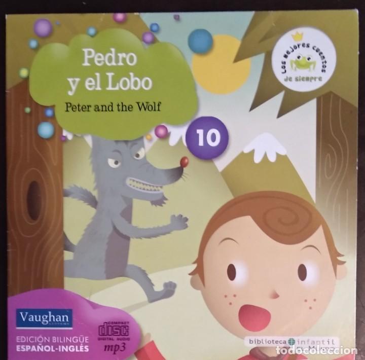 Juegos educativos: LOTE CD CUENTOS INFANTILES audio inglés-español - Foto 11 - 169153412