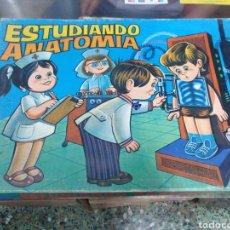 Juegos educativos: JUEGO DE MESA EDUCATIVO ESTUDIANDO ANATOMÍA DE LOS AÑOS 80. Lote 169324897