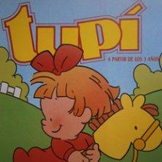 Juegos educativos: TUPI A PARTIR DE LOS 3 AÑOS NUMERO 9 MILAN 1989 JUEGOS EDUCATIVOS INFANTILES. Lote 171417170