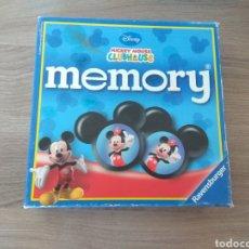 Juegos educativos: JUEGO INFANTIL MICKEY MOUSE DISNEY MEMORY - 32 FICHAS JUEGO DE PAREJAS COMPLETO. Lote 171553108
