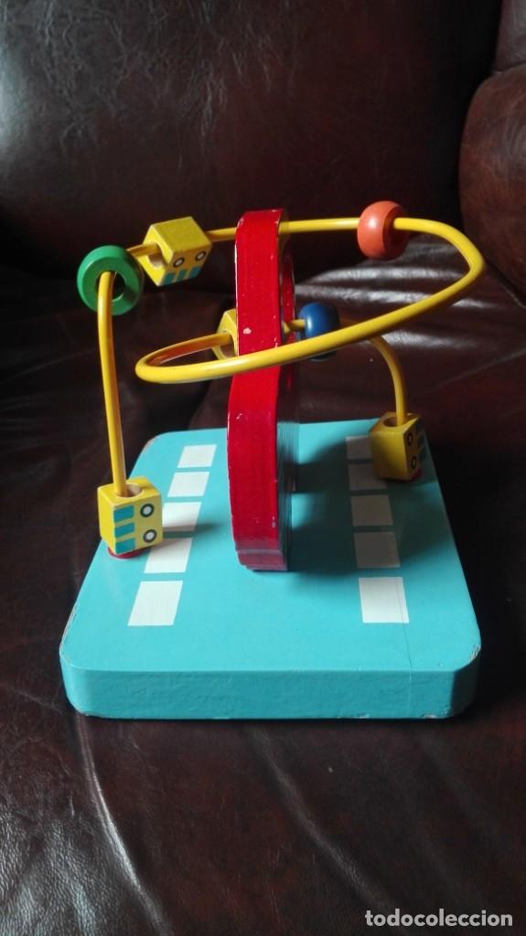 Juegos educativos: Coche taxi con dados movibles de madera - Foto 2 - 173127654