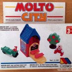 Juegos educativos: JUGUETE EDUCATIVO MOLTO CITY ESCUELA. NUEVO. Lote 173383994