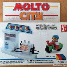 Juegos educativos: JUGUETE EDUCATIVO MOLTO CITY GASOLINERA. NUEVO. Lote 173384130
